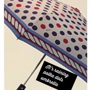 """Brighton """"It's raining Polka Dots"""" Umbrella"""